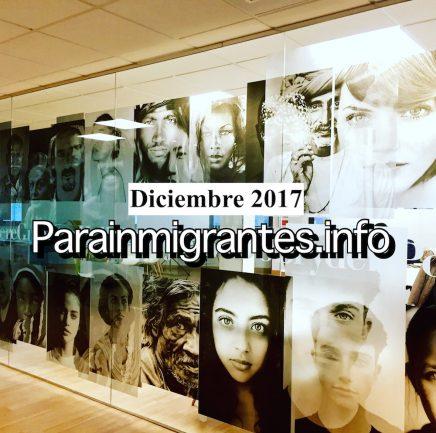¡Noticias destacadas de Parainmigrantes. Diciembre 2017!