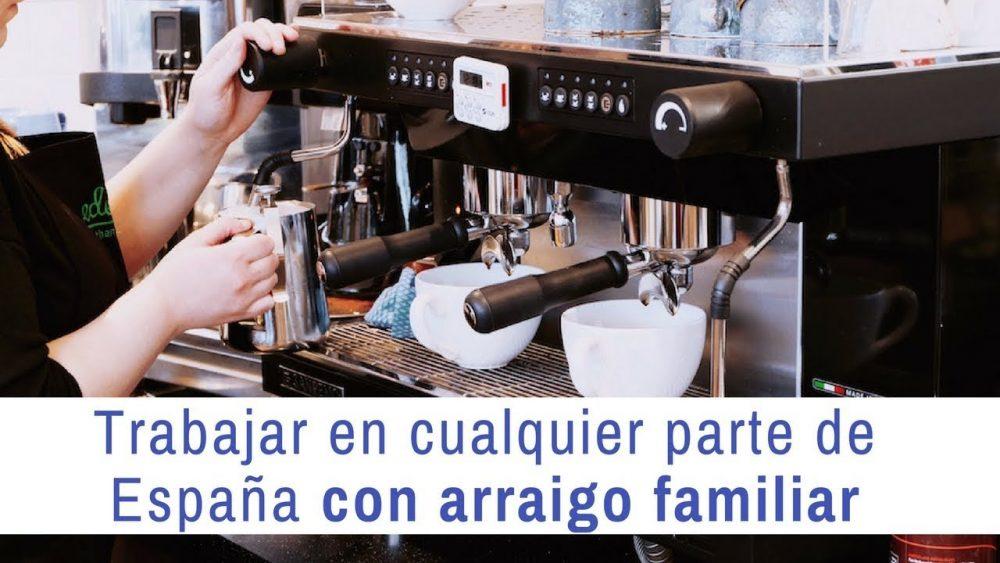 Con un arraigo familiar, ¿puedo trabajar en cualquier parte de España?