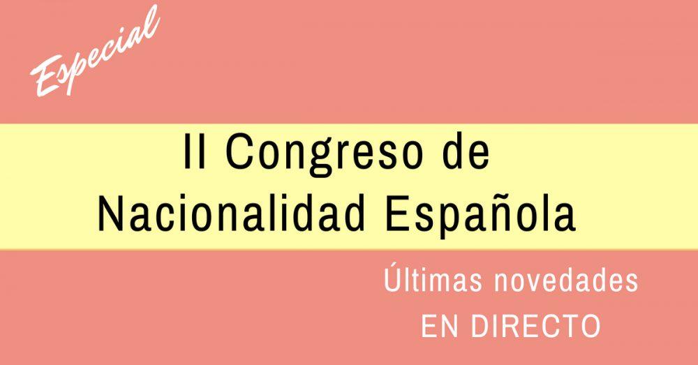 II Congreso de Nacionalidad Española
