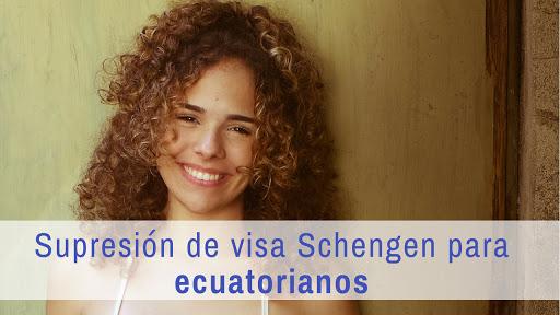 Supresión de visado para ecuatorianos