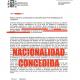 Nacionalidad Concedida: expediente vía telemática