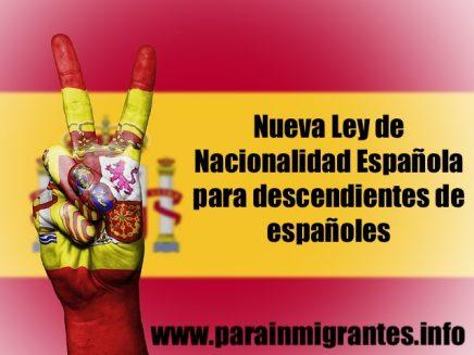 ley de nietos nacionalidad española descendientes