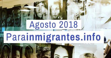 noticias destacadas parainmigrantes agosto 2018