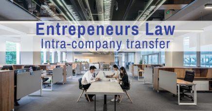 Entrepreneurs Law- Intra-company transfer