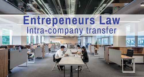 Entrepreneurs Law- Intra-company transfer