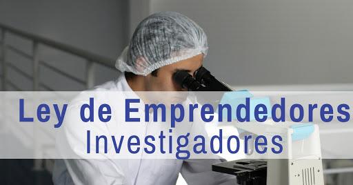 Ley de emprendedores- Investigadores
