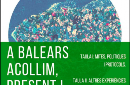 Jornada 'Les Balears Acollim' sobre la acogida de inmigrantes en España
