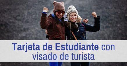 Solicitar la tarjeta de estudiante con visado de turista