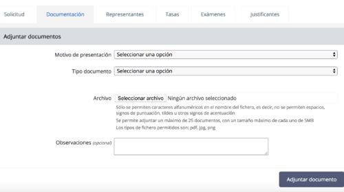 Nueva forma de aportar documentación a expedientes de nacionalidad española