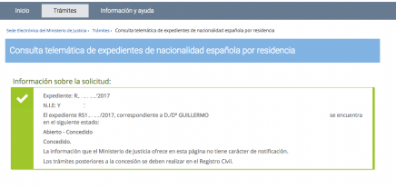 Nuevas concesiones de nacionalidad española vía recurso contencioso
