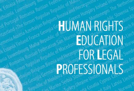 Derechos Humanos Profesionales Legales Consejo Europa