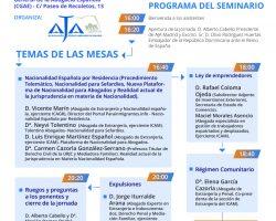 Seminario de Extranjería AJA-Madrid
