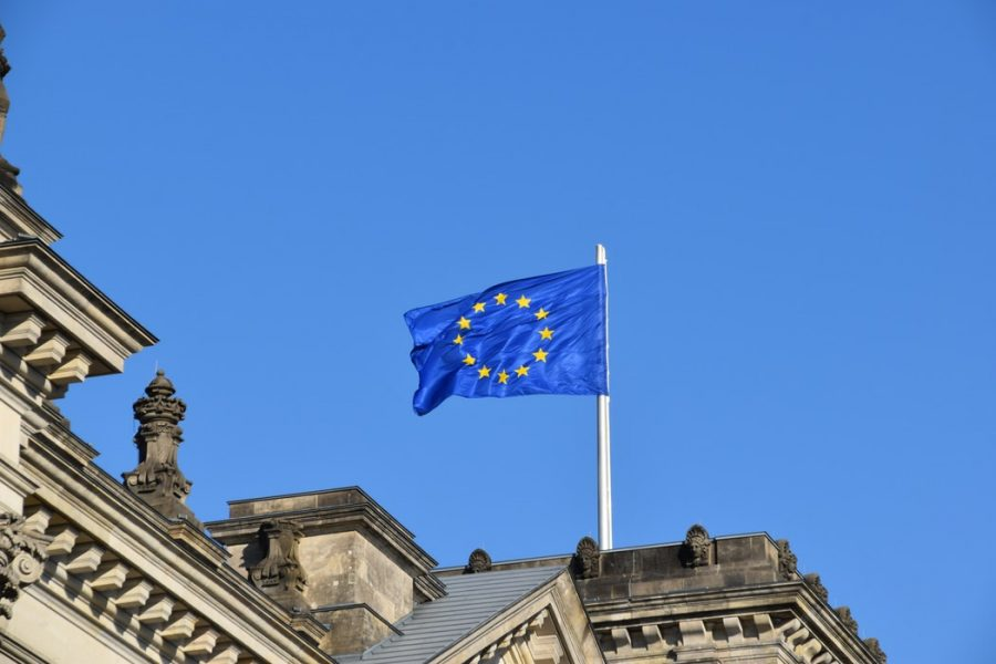 UE bandera europea