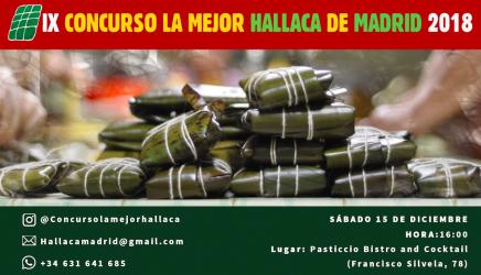 concurso venezuela hallaca madrid navidad