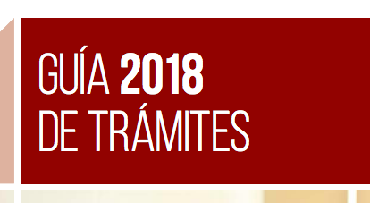 Guía Trámites 2018 ministerio interior