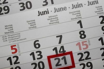 Calendario de Módulos 'Conoce tus Leyes'. Diciembre 2018