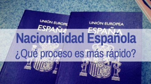El expediente de nacionalidad española más rápido en resolverse