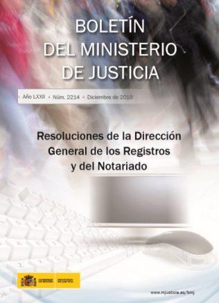 Resoluciones de la Dirección General de los Registros y del Notariado (DGRN). Del 1 al 31 de diciembre de 2017
