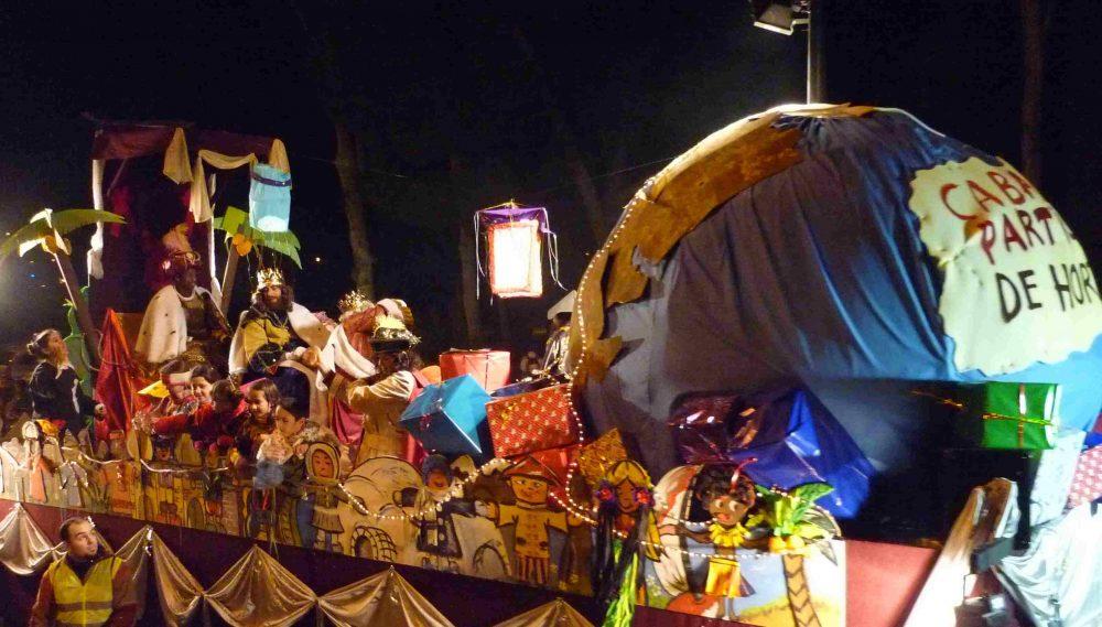 El Rey Mago que llegó tras saltar la valla de Ceuta