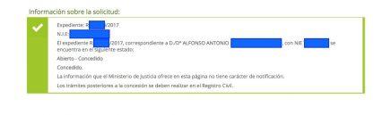 Concesiones de Nacionalidad Española Alfonso Antonio