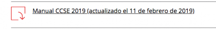 actualizacion CCSE 11febrero