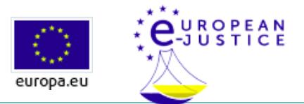 Justicia en Red Europea e-Justicia