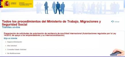 Plataforma presentación expedientes Ley 14/2013