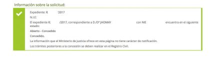 concesiones de nacionalidad, Jhonny por contencioso