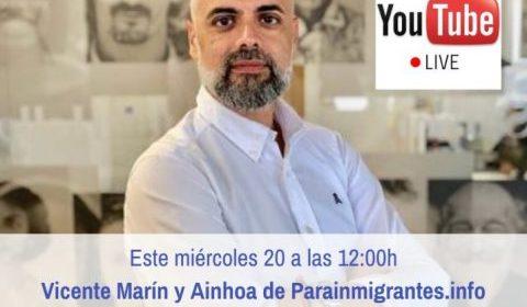 Hangout en directo por Youtube con los abogados Vicente Marín y Ainhoa Manero este miércoles a las 12:00h