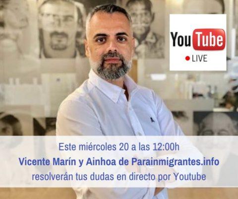 Hangout en directo por Youtube