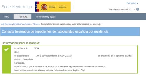 Concesiones de nacionalidad: ¡nueva lluvia de resoluciones!