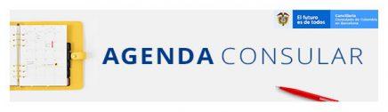agenda consular Colombia