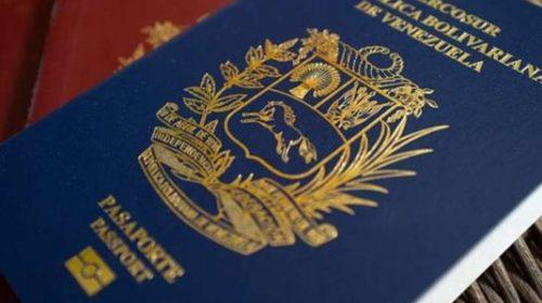 Extranjería admitirá pasaportes caducados de venezolanos