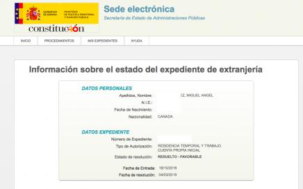 Autorización de Residencia Temporal y Trabajo por Cuenta Propia: ¡Concedida!
