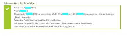 JATIN concesion nacionalidad
