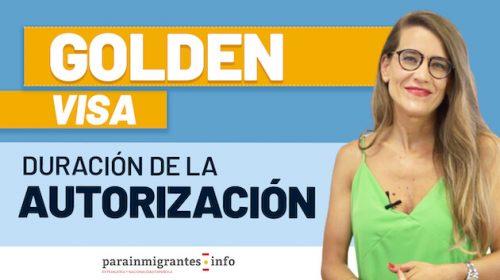 Golden Visa: Duración de la Autorización como Inversor