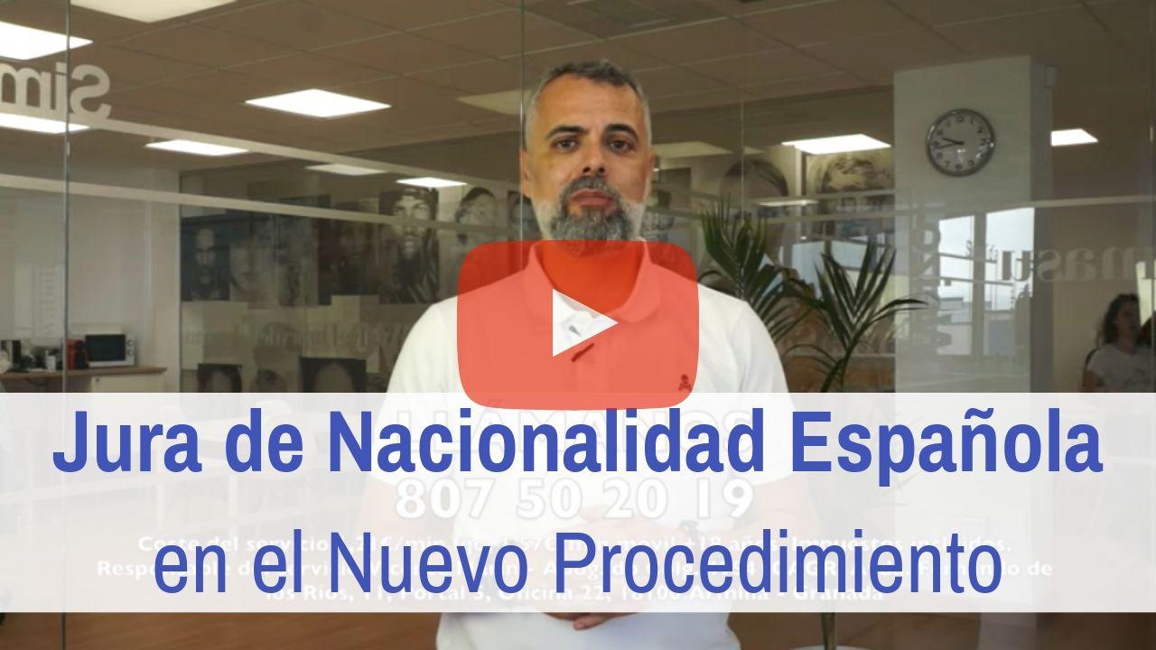 Jura de Nacionalidad Española