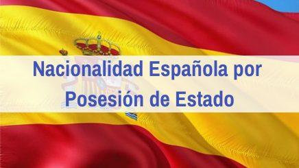 Nacionalidad por Posesión de Estado