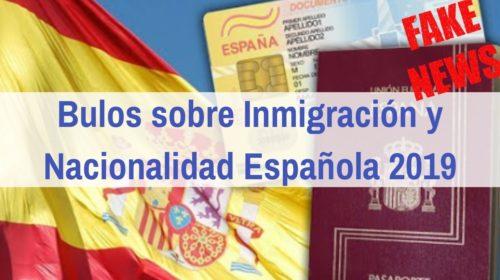 Bulos sobre la inmigración destapados tras las elecciones
