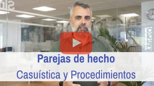 Pareja de hecho: casuísticas en España y procedimientos de inscripción