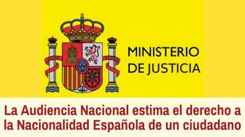 Estimado el recurso de denegación de nacionalidad española de un ciudadano marroquí