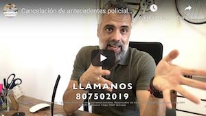 Cancelación de antecedentes policiales antes de pedir la Nacionalidad Española