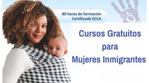 Cursos gratuitos para Mujeres Inmigrantes