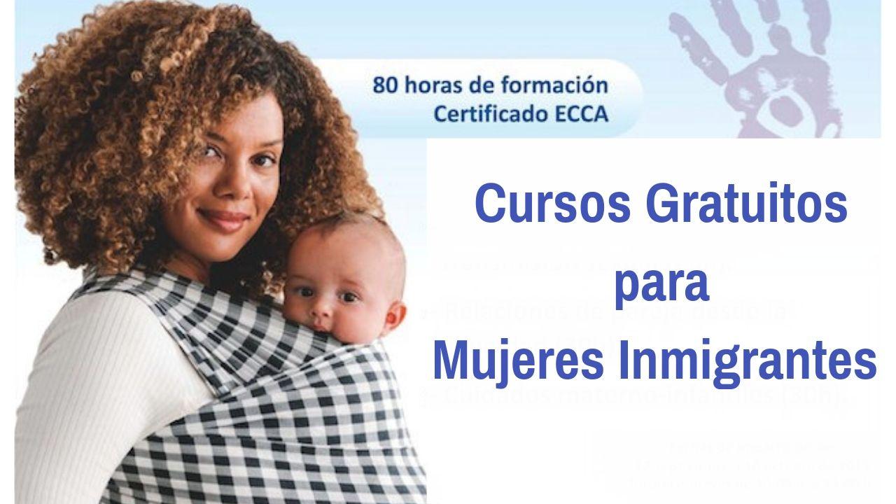 cursos gratuitos mujeres inmigrantes