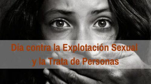 Día Internacional contra la Explotación Sexual y la Trata de Personas: 23 Septiembre