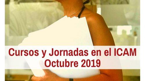 Cursos en el ICAM – Octubre 2019