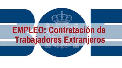 Contratación de Trabajadores Extranjeros en Origen