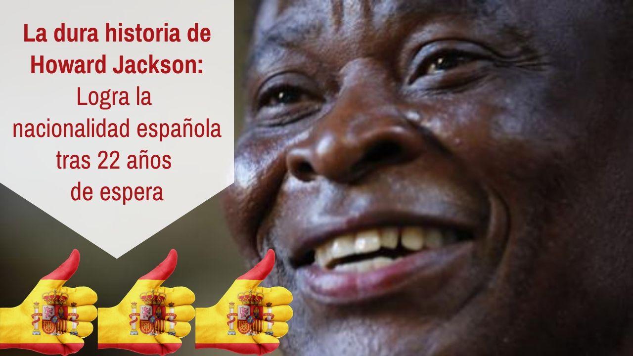 Howard Jackson logra la nacionalidad española tras 22 años