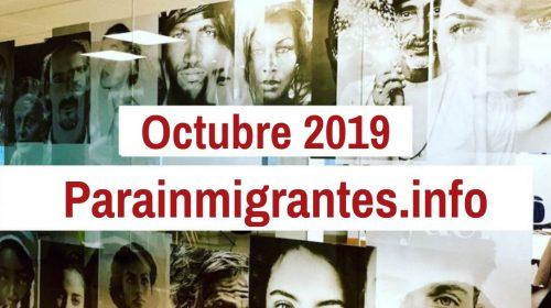 Noticias Destacadas de Parainmigrantes.info – Octubre 2019