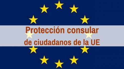 Protección consular de ciudadanos de la UE